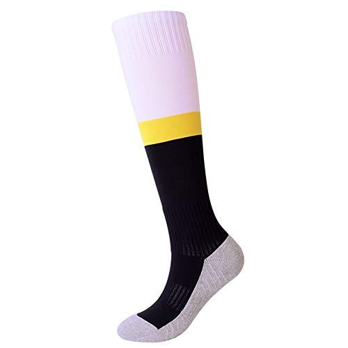 Feste Socken Fußball Socken Kinder Kniehohe Gestreifte Sport Fußball / Fußball / Hockey Tube Socken Gepolsterte Unterstützung Atmungsaktiv Laufsport Socken für Jungen für Tägliche Arbeit für Loafer Bo - Gepolsterte Arbeit Socken