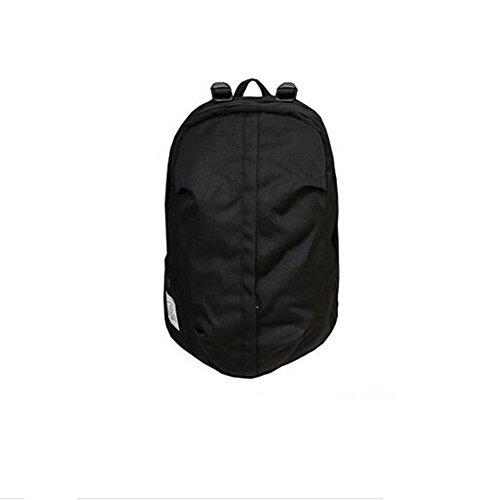 Männlicher Segeltuchrucksack der Rucksackmänner Einfache Wilde Kursteilnehmertasche Weibliche Reisetasche Im Freien Sport,Black