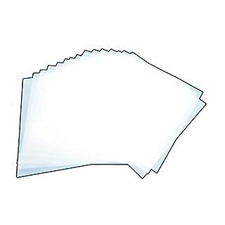 Mylar-Blätter, 30 cm, Weiß, für Airbrush-Schablonen, Quiltmuster, Cricut, 15 Stück