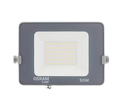 COUSON Foco Proyector LED 50W Exterior OSRAM Chips Luz Neutra 4000K IP65...