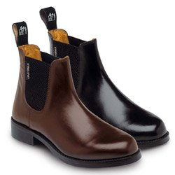 Harry Hall, Stivali da equitazione modello Jodhpur Bambino Buxton nero - nero