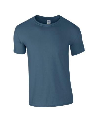 Gildan Ultra Cotton TM Adult T-Shirt Indigo Blau S -