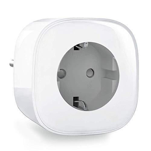 Enchufe WiFi Inteligente Smart Enchufe Con Monitor de Energía No Se Requiere Hub Funciona Con APP iOS Y Android Control Remoto Temporizador Compatible Con Alexa Google Assistant IFTTT