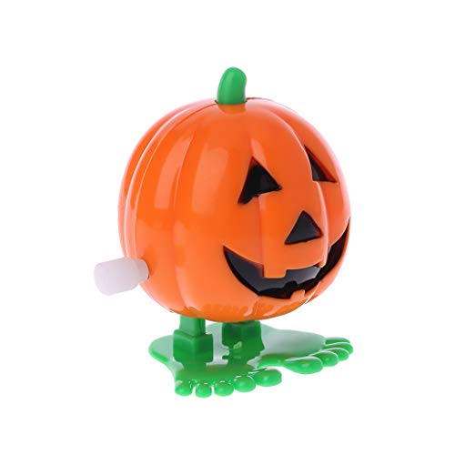 Junlinto Halloween Uhrwerk Springen Kürbis Mechanische Pädagogische Spielzeug Streich Spiel Versorgung