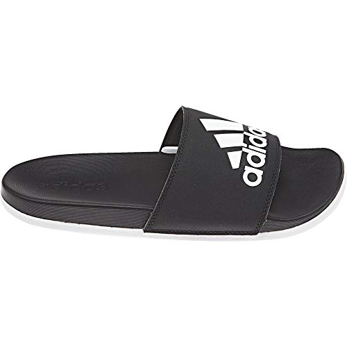 adidas Damen ADILETTE COMFORT Aqua Schuhe Schwarz (ftwwht/cblack Cg3427), 37 EU -
