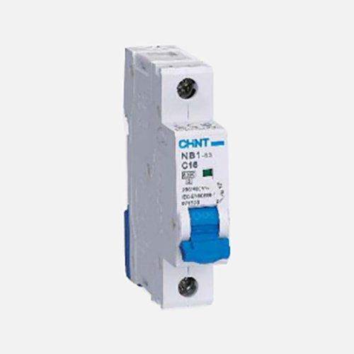 Chint NB1-63DC-1P-C10 Serie Miniatur-Sicherungsschalter, solarbetrieben, 10 A, 1 polig, C-Curve, DC 250 V -