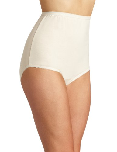 Vanity Fair Women's Perfectly Yours Tailored Cotton Brief Panty 15318, Fawn, 11