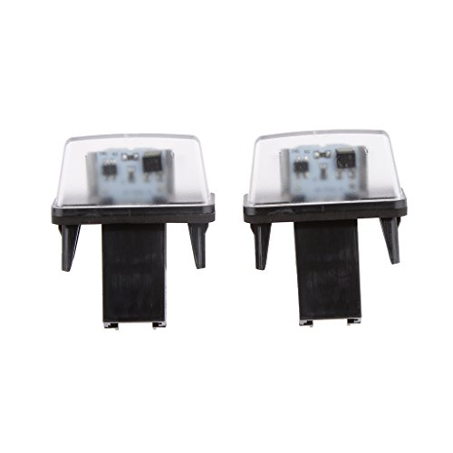 Numero Di Luce Targa Led Per Citroen C3 / C4 / Xsara Picasso C3 M6e0