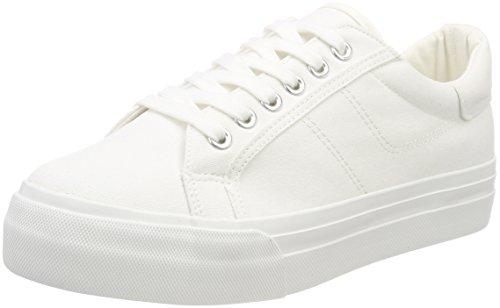 Tamaris Damen 23602 Sneaker, Weiß (White), 39 EU