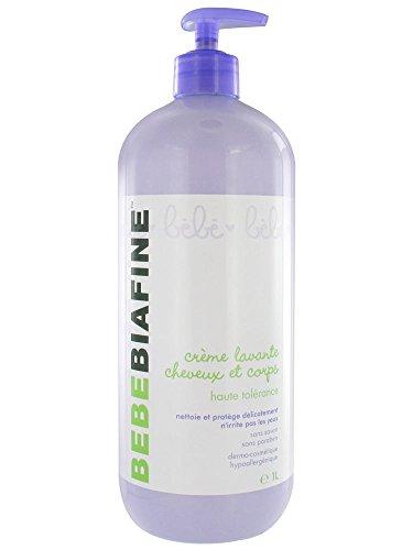 BébéBiafine Hair and Body Washing Cream 1L