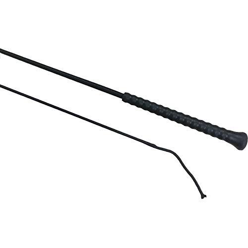 Fleck Reitgerte schwarz 120cm