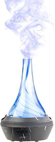 Carlo Milano Aroma Vernebler: Aroma-Diffusor aus mundgeblasenem Glas, mit Farb-LED, 120 ml (Ionisator)
