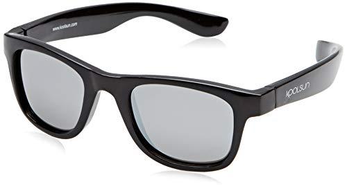 Koolsun Sonnenbrille Kinder Wave Fashion, Black Onyx Verspiegelt, Schwarz, 1-3 Jahre