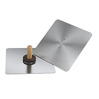 Bon 13-121 – Talocha de aluminio (mango de madera, 34,3 x 34,3 cm)