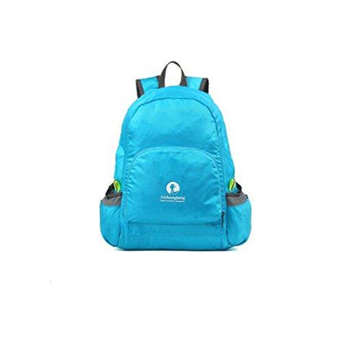 Wmshpeds Borsa di pelle la moda casual borsa a tracolla Borsa pieghevole borsa da viaggio ultra-light in borsa F