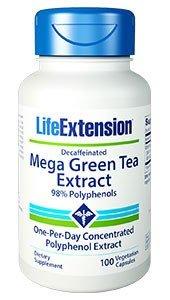 Life Extension - Descafeinado extracto té verde Mega