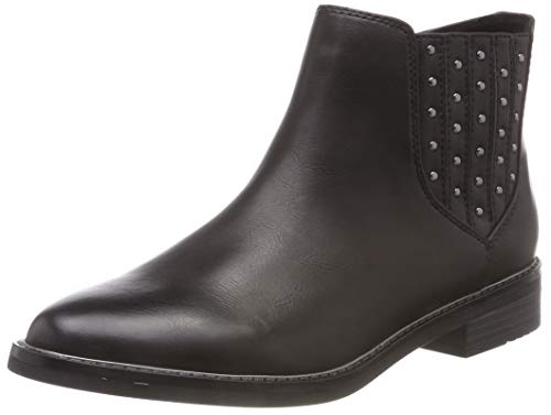 MARCO TOZZI Damen 25030-31 Chelsea Boots, Schwarz (Black Antic 002), 39 EU