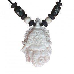 Amulett Talisman Anhänger Kette Indisch Ganesha KBone29