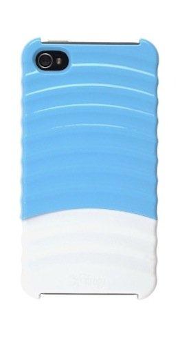 iFrogz Pulse Schutzhülle für iPhone 4, Blau/Weiß, 1 Stück