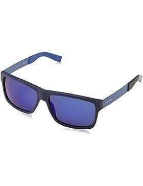 Boss Orange Unisex-Erwachsene Sonnenbrille 0196/S 1G, Schwarz (Matt Blue 2pb), 59