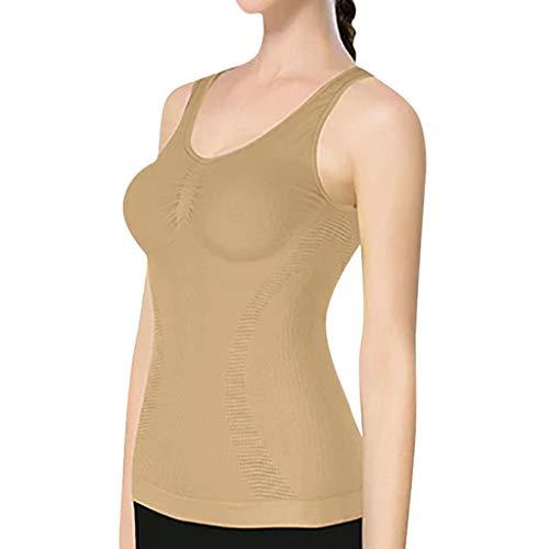 LIMITA Damen-Shapewear, Körperförmige Unterwäsche 3 in 1 All Day Body Shaper Unterwäsche Trägershirt-BH Push-Up BH Damen Classic Push up Sport-BH