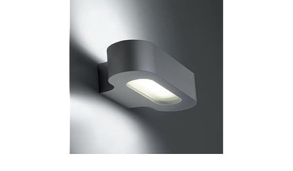 Artemide talo parete halo silver: amazon.it: illuminazione