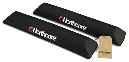 Preisvergleich Produktbild Northcore Aerodynamic Roof Bar Pads