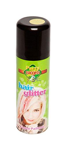 Bombe laque pour cheveux paillettés 125 ml - couleur - Multicolore - 174242