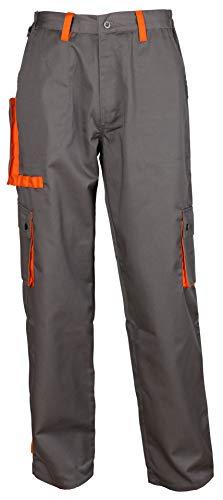 Stenso Desman Pantaloni da Lavoro multitasca Grigio/Arancione 50