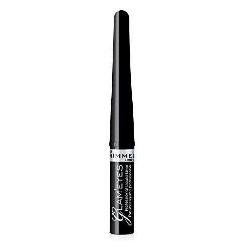 Rimmel Glam'eyes Professional Liquid Eye Liner, Black Glamour