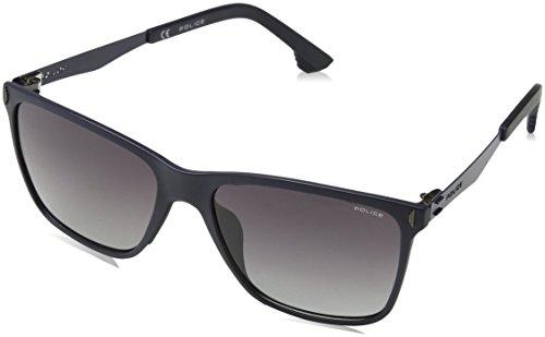 Police Herren Flow 2 Sonnenbrille, Blau (Matt Full Blue), 44