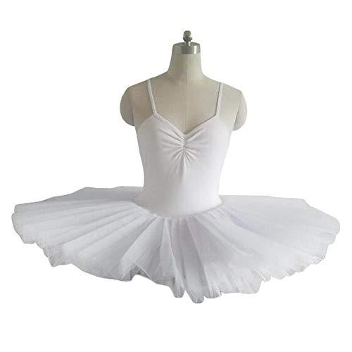 Kostüm Tap Weihnachten Dance - Panda Legends Mädchen Ballett Kleid Weiß Ballett Tutu Kleid Kinder Dancewear Swan Dance Kostüme