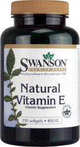 Swanson Natural Vitamin E (400iu, 250 Softgels) by Swanson Health Products