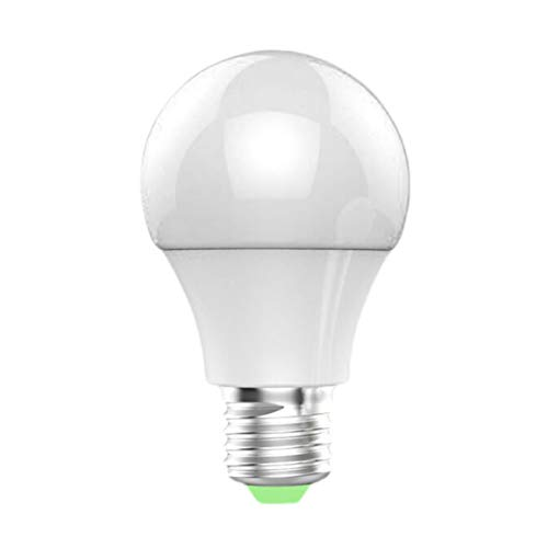 Mini Color Cell Phone App Remote Sensing Control Wi-Fi Smart LED Bulb Light Compatible with Alexa/Google Home
