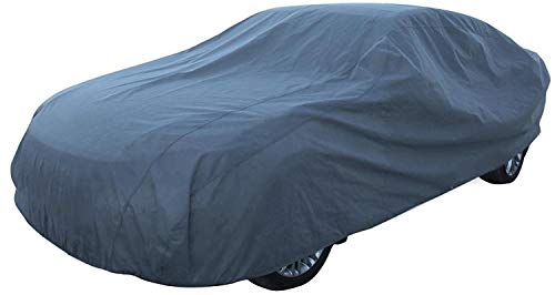 XL Ganzgarage Grau Vollgarage Autoabdeckplane Winter Sommer 540x175x120cm