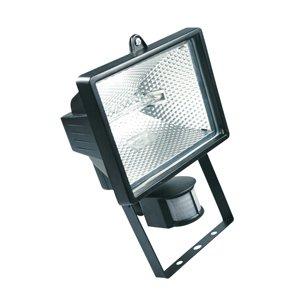 HALOTEC Foco Proyector halógeno con sensor de movimiento (IP44, 1500 lúmenes, 150...