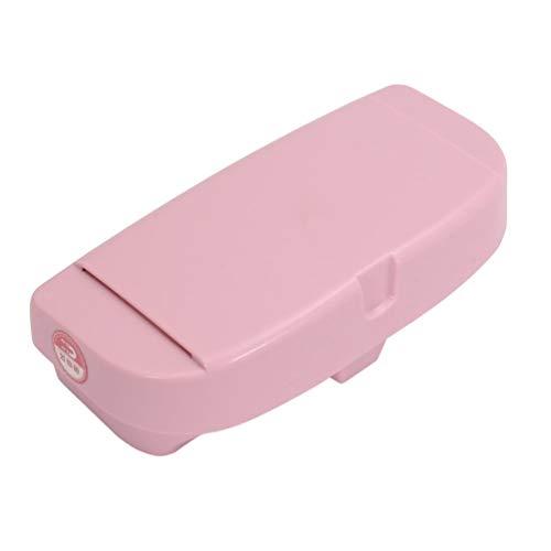 Oyamihin Auto Brille Aufbewahrungsbox Sonnenbrille Tragetasche Hartschalenkoffer Schutz Box Universal Schützen Box Halter Brillen Zubehör - Pink