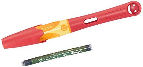 Pelikan Griffix Füllhalter für Rechtshänder, rot -