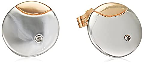 Hot Diamonds Lunar Eclipse Rose Gold Plated Accents Studs