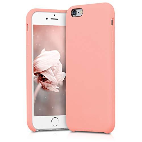 kwmobile 40223.81 Funda para teléfono móvil 11,9 cm (4.7') Oro Rosa - Fundas para teléfonos móviles (Funda, Apple, Phone 6 / 6S, 11,9 cm (4.7'), Oro Rosa)