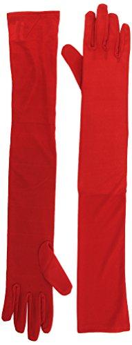 Widmann–Handschuhe lange rote, 1Paar