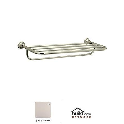 Rohl CIS10STN 9.28385Apc Cisal 24 Towel Rack with Towel Bar,