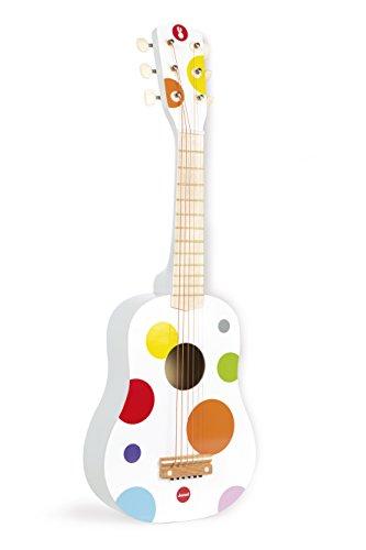 Janod J07598 - Konfetti Gitarre (Französisch Gitarre)