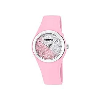 Calypso Watches Reloj Analógico para Mujer de Cuarzo con Correa en Plástico K5754/3