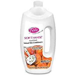 Dabur Fem Soft Handz Peach Handwash - 900 ml