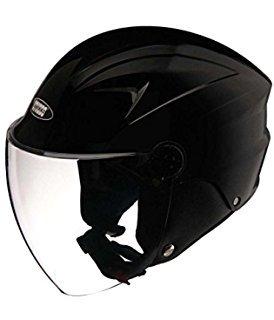 Studds Dame Half Face Helmet (Black, S)