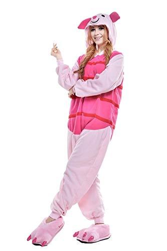 Everglamour - Pijama/mono con diseño de Piglet.