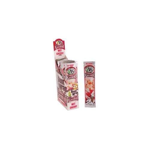 Blunt Wrap Platinum Double Blunt Wrap Lot de 5paquets contenant 2feuilles à cigares Saveur cerise