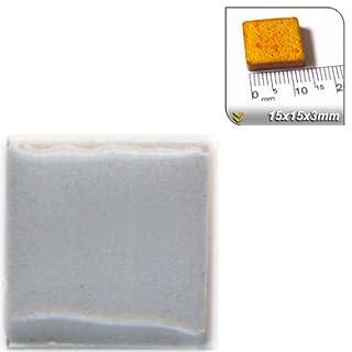 ALEA Mosaic Mosaic-Minis (15x15x3mm), 50 pieces, Silver grey, WE01