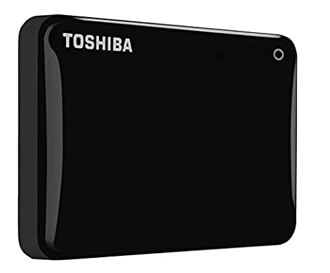 Toshiba Canvio Connect II 500 GB Mobile Festplatte (6,4 cm (2,5 Zoll) USB 3.0) schwarz